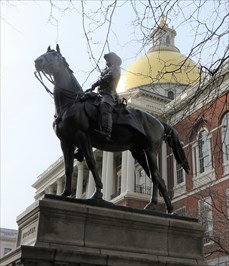 veritas vita visited The Equestrian Statue of Major General Joseph Hooker