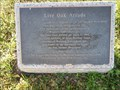 Image for Live Oak Arcade - San Jacinto Monument, Houston, TX