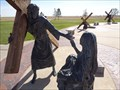 Image for Jesus Christ - 8th Station Of The Cross - Groom, Texas, USA