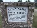 Image for Mount Olive Baptist Church - Cushing, OK