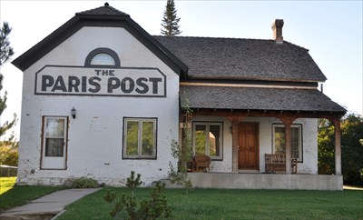 Old LDS Tithing/Paris Post Building - Paris, Idaho - U S  National