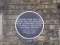 Image for Staunton House Plaque - Bedford Street, Woburn, Bedfordshire, UK