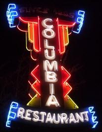 Columbia Restaurant Neon - Ybor City
