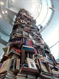 Image for 34-Foot-Tall Tower of 6,800 Fake Lincoln Books  -  Washington, DC