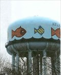 Image for Atlantic City water tower - with fishes
