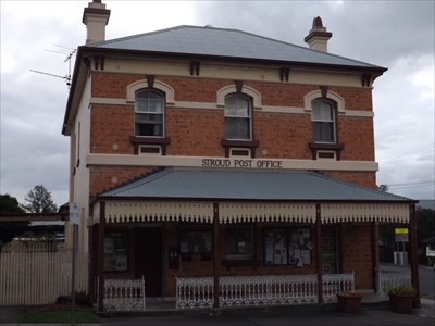 Built in 1884, and restored in 1984, for its centenary. Now a licenced PO. 1955, Saturday, 23 January, 2016