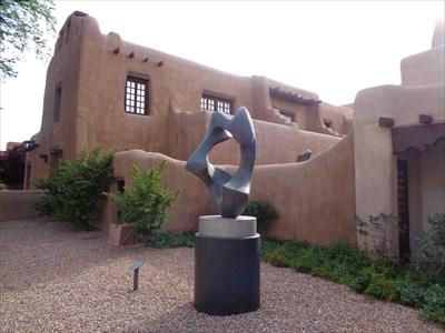 New Mexico Museum of Art - Santa Fe, New Mexico.