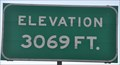 Image for Interstate 90 ~ Elevation 3069 Feet