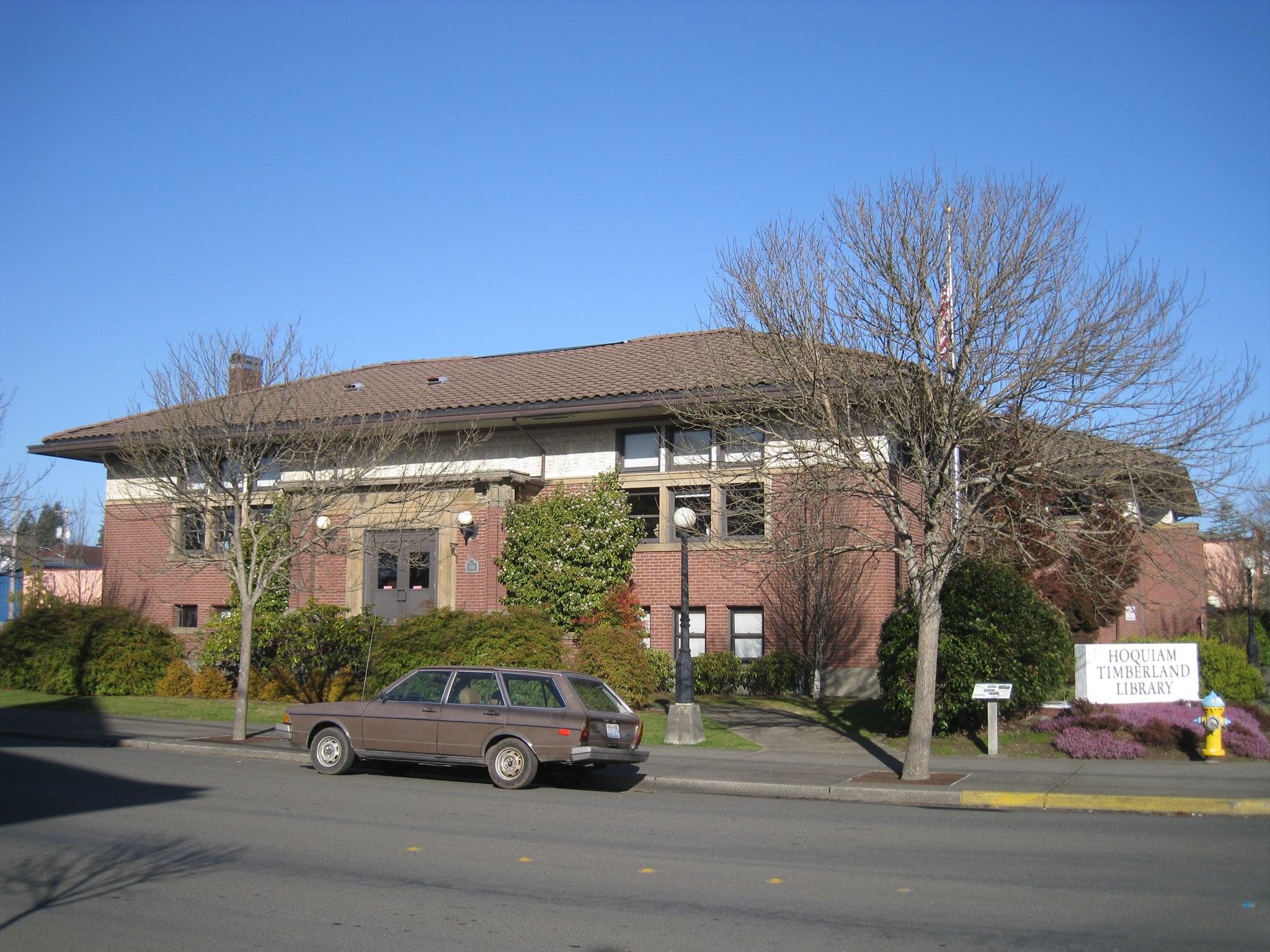 Hoquiam (WA) United States  city photos gallery : Carnegie Library Hoquiam, Washington U.S. National Register of ...