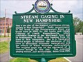 Image for Stream Gaging in New Hampshire - Plymouth