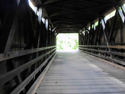 Thomas Mill Covered Bridge - Philadelphia, PA - WPA Projects