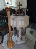 Image for Baptism Font - St Andrew - Great Finborough, Suffolk