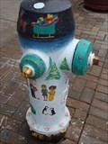 Image for Christmas Whishes Hydrant - Oshawa, Ontario, Canada
