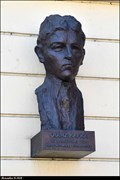 Image for 3412 Kafka & Franz Kafka bust - Podebrady (Central Bohemia)