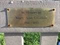 Image for Mary Ann Gwatkin - Lowell, Michigan