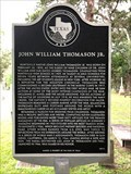 Image for John William Thomason Jr.