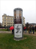 Image for Moderní reklamní sloup - Námestí Jana Palacha - Praha, CZ