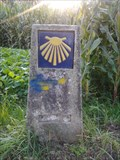 Image for Way marker (before the intersection) - Finisterra, spain