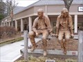 Image for Unknown Couple Sculpture, Blowing Rock, NC