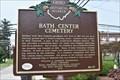 Image for Bath Center Cemetery / Bath Township Hall