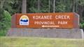 Image for Kokanee Creek Provincial Park - Balfour, BC