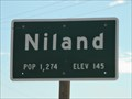 Image for Niland CA Elev. 145 below sea level