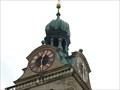 Image for Clocks at the Bell Tower of the Basilica of St. Emmeram, Regensburg - Bavaria / Germany