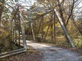 Image for Mohican Trail through truss bridge - Richland Co, Ohio