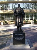 Image for MLK Statue Fresno State Peace Garden