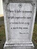 Image for Citat z bible - Mat.16.24. - Vratimov, Czech Republic