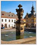 Image for Empire fountain (Empírová kašna), Jílemnice, Czech Republic