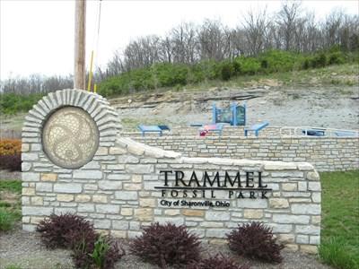 trammel fossil park ohio rock hounding on waymarking com