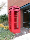 Image for Red Telephone Box - Medina, Ohio