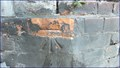 Image for Cut Bench Mark - Radnor Street, Folkestone, UK