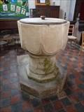 Image for Baptism Font, St Lawrence - Sedgebrook, Lincolnshire