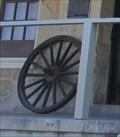 Image for Fort Clark Guardhouse Wagon Wheel -- Brackettville TX