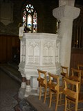 Image for Pulpit - St Germanus Church, St Germans, Cornwall