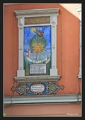 Image for Sundial on a façade of an old restaurant (Altdeutsche Weinstube) - Spittal an der Drau, Austria