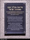 Image for Kristallnacht memorial tablet at Synagogue / Pametní deska Krištálové noci na synagoze - Nový Jicín (North Moravia)