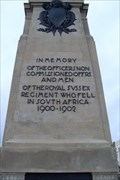 Image for Boer War Memorial on the sea front in Brighton.