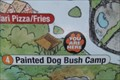 Image for Painted Dog Bush Camp You Are Here Map - Pittsburgh Zoo & PPG Aquarium - Pittsburgh, Pennsylvania