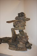 Image for Inukshuk at Manitoba Museum -- Winnipeg MB