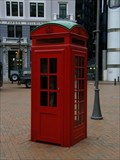 Image for Red Telephone Box - Downtown Wellington