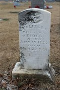 Image for FIRST Person Buried on This Site (Pleasant Grove Cemetery) - Climax, TX