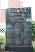 Image for Civil Rights Freedom Wall -- Selma AL