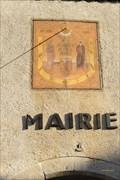 Image for Cadran solaire déclinant de l'après-midi- Aspres sur buech- Hautes-Alpes- PACA- France