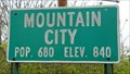 Image for Mountain City, TX - Pop. 680