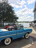 Image for Rare collection of 'Amphicars' delights guests at Disney Springs - Lake Buena Vista, FL