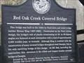Image for Red Oak Creek Covered Bridge