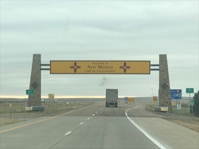 Texas -> New Mexico on Interstate 40